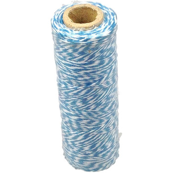 12ply Bakers Twine - White and Blue