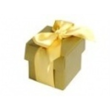 Favor Box - 2pc - 50pk  - Gold