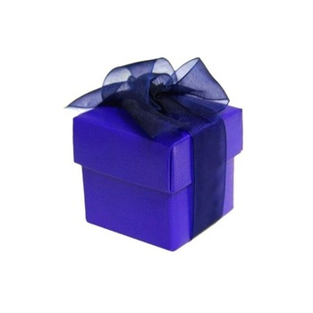 Favor Box - 2pc - 50pk  - Purple