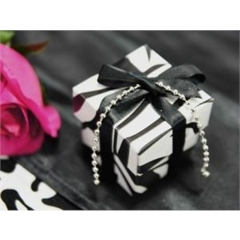 Favor Box - 2pc - 50pk  - zebra Print