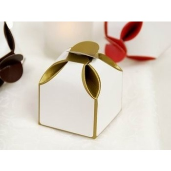 Favor Box - 2 Tone - 50pk - Gold