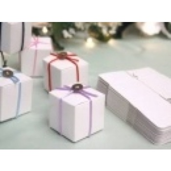 Favor Box - 2x2 Cube - 50pc - White