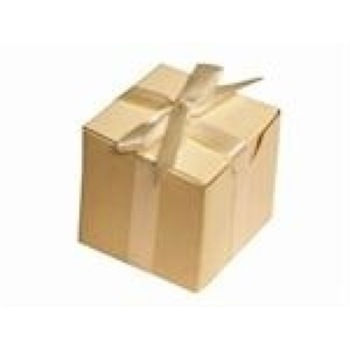 Favor Box - 2x2 Cube - 50pc - Dark Cream