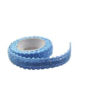 15mm Blue Crochet Tape - 1.8m