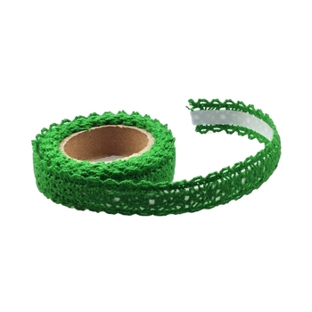 15mm Green Crochet Tape - 1.8m