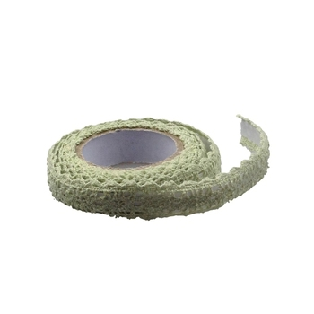 15mm Light Green Crochet Tape - 1.8m