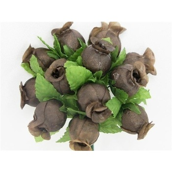 POLY ROSE - Chocolate - 144/pk