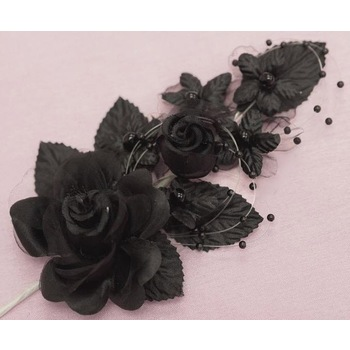 BRIDAL FLOWER  - Black