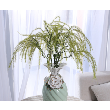68cm Weeping Greenery Branch