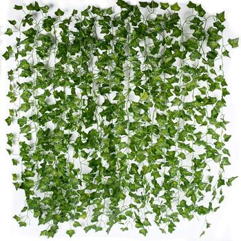 12pk - 2.3m Small Leaf Ivy  Garland