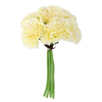 Carnation Bouquet Small - Ivory