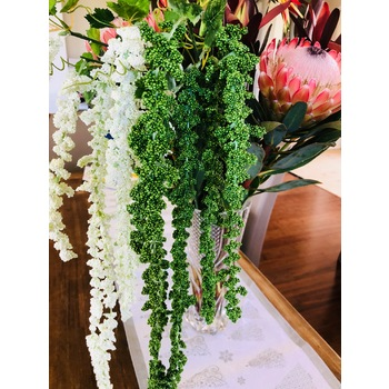 100cm Green Weeping Greenery Branch Amaranthus Tails