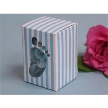 50pk Blue Baby Shower Favor Box
