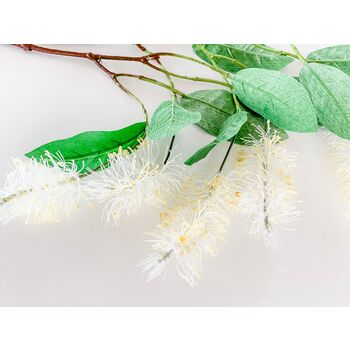 100cm white/Yellow Grevillea Branch