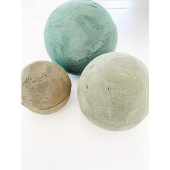 12cm Green Sphere/Ball - Sphere/Ball - Florist Foam