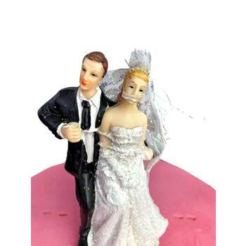 Cake Topper - Gagged Bride