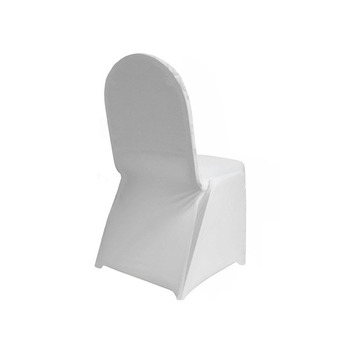 Lycra Chair Cover - Medium Quality - White