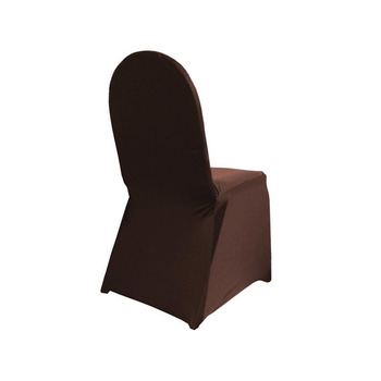 CLEARANCE Chair Covers (Spandex/Lycra) - Chocolate (clearance)