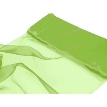 Nylon Chiffon Fabric 12 inch x 10 Yards - Apple Green