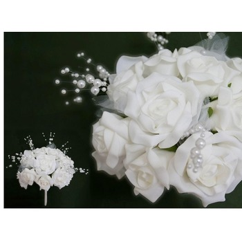 BOUQUET Bridal Rose White