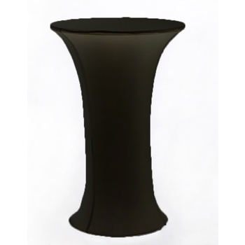 Dry Bar Cover 700mm (round base) -  Lycra - Black