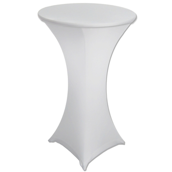 Dry Bar Cover 700mm (4 Footed) - Fitted Lycra - White