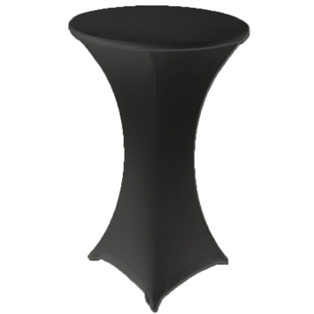 Dry Bar Cover 700mm - (4 Footed)  Fitted Lycra - Black