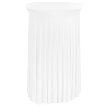 Dry Bar Cover 600mm Semi Fitted Lycra - White