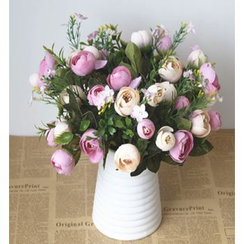 Tea Rose Small Filler Bunch - Mauve