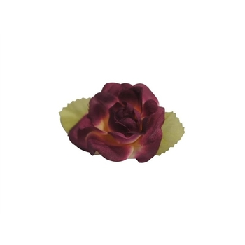 EXTRA TOUCH Craft Roses - 12/pk - eggplant