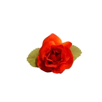 EXTRA TOUCH Craft Roses - 12/pk - orange