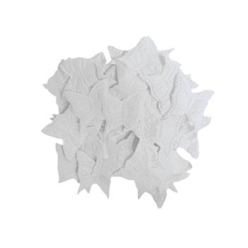 500pk Rose Petals - Butterfly - White