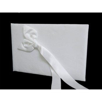 Wedding Guest Book - Calle Lily White