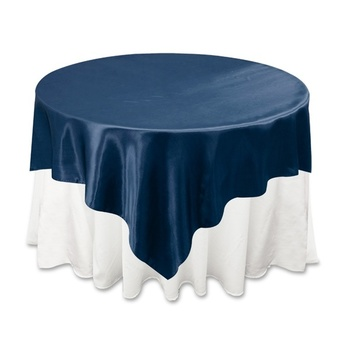 90inch Overlay (Satin) - Navy Blue