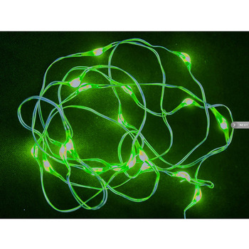 Green inLine Green Fairy Lights - Battery Operated 2.1m
