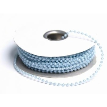 String Beads - 3mm - Baby Blue - 24yds