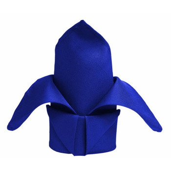 Quality Polyester Napkin - Royal Blue