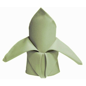 Quality Polyester Napkin - Willow Green