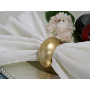 Gold Acrylic Napkin Ring