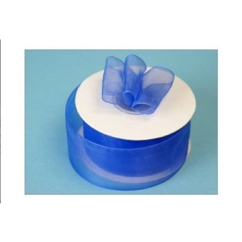 1 1/2 inch Organza Ribbon - Royal