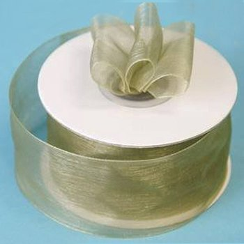 1 1/2 inch Organza Ribbon - Willow