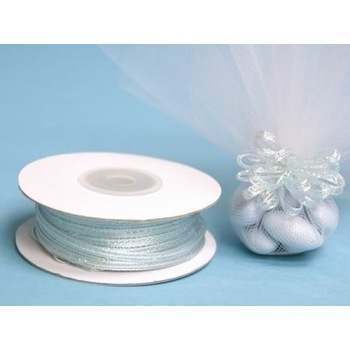 1/8 inch Pull Ribbon - Baby Blue