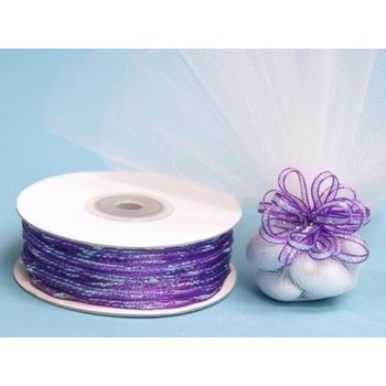 1/8 inch Pull Ribbon - Purple