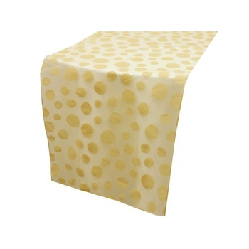 Table Runner (Dotty) - Champagne