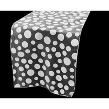 Table Runner (Dotty) - WHITE