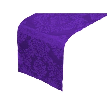 Table Runner (Flocking) - purple/purple DISCONTINUED