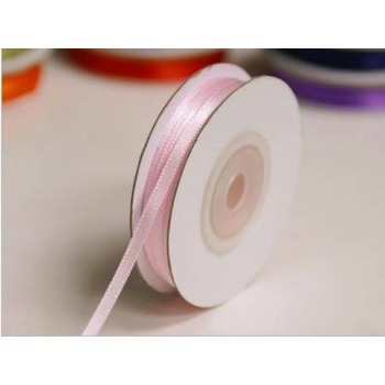 1/8 inch Satin Ribbon - 100yds - Pink