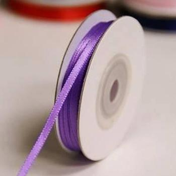 1/8 inch Satin Ribbon - 25yds - Purp