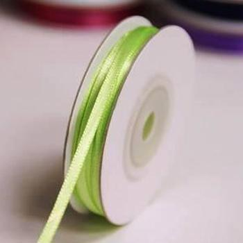 1/8 inch Satin Ribbon - 25yds - Apple