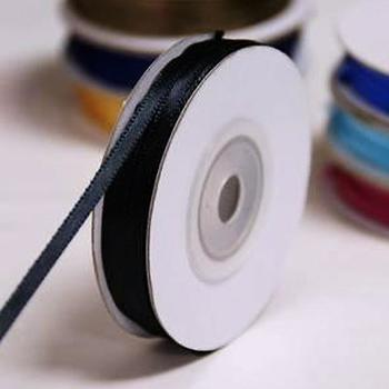 1/8 inch Satin Ribbon - 100yds - Black